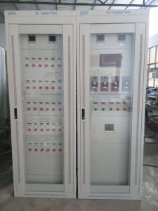 公司援缅救灾电力物资变电设备项目 生产的直流屏和通信电源已顺利交付